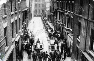 Funeral Procession, Elders Street, Scarborough